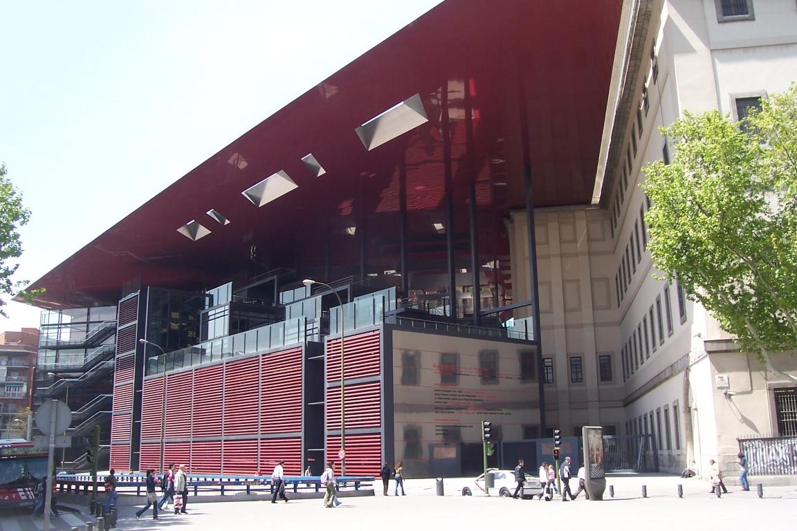 Fachada del Museo Reina Sofia