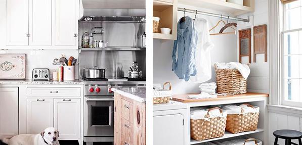 Reforma cocina zona lavado casa campo