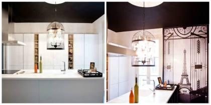 reforma cocina piso clasico madrid