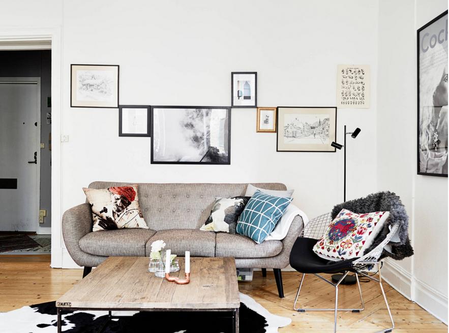 Un apartamento escandinavo sofisticado y acogedor alicia for Muebles estilo nordico baratos